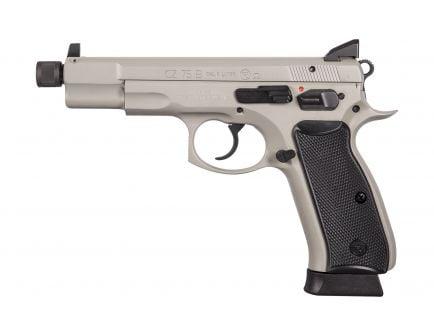 CZ 75B Omega 9mm Pistol with Night Sights, Urban Gray - 91235