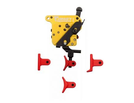 Timney Triggers Calvin Elite Remington 700 Trigger w/ Safety, 4 Adjustable Red Shoes - 520CE-A