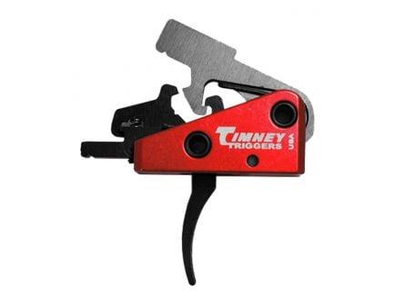 Timney Targa AR-15 2 Stage Short Curved Trigger, Black - 662S