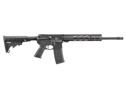 Ruger AR-556 5.56 NATO M-LOK Free-Float Handguard Rifle, Black - 8529