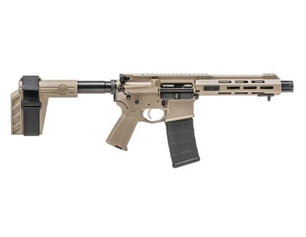 Springfield Armory Saint 5.56x45mm NATO AR-15 Pistol, Flat Dark Earth - ST975556FDE
