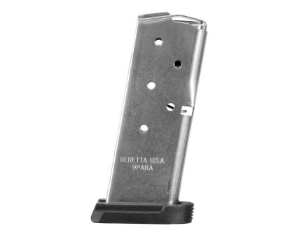 Beretta APX Carry 9mm 6 Round Flush Fit Magazine