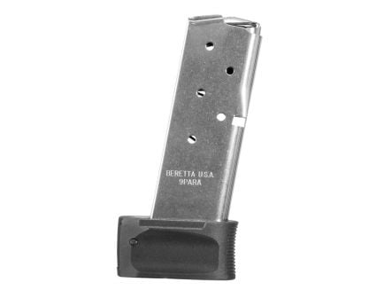 Beretta APX Carry 9mm 8 Round Extended Magazine