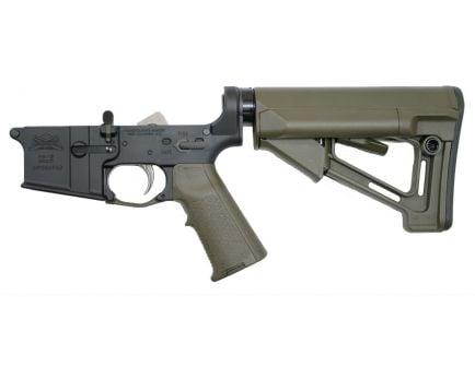 PSA AR-15 Complete Lower - Magpul STR EPT MIAD Edition - ODG, No Magazine