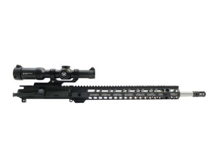 "PSA 18"" Rifle Length 223 Wylde 1/7 Stainless Steel 15"" Lightweight M-lok Upper With Vortex Strike Eagle 1-8x24mm Scope"