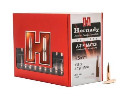 Hornady 6.5mm 135 gr .264 A-TIP Match 100 Bullets - 26179