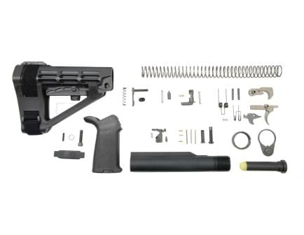 PSA SBA4 MOE EPT Pistol Lower Build Kit, Black