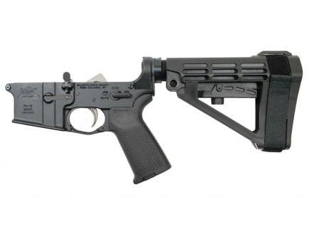 Blem PSA AR15 Complete MOE EPT SBA4 Lower, Black