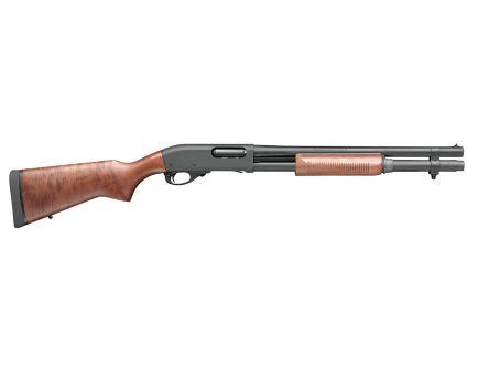 Remington 870 Police 12 GA Gauge Pump Shotgun, Walnut