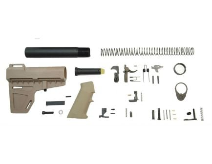 PSA Shockwave Classic Lower Build Kit, Flat Dark Earth
