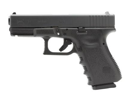 "Glock G19 9mm 4"" Pistol, Black Polymer"