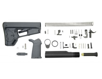 PSA MOE ACS-L Lower Build Kit, Gray