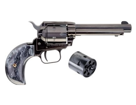 """Heritage Rough Rider .22 LR/ .22 WMR 4.75"""" Revolver with Black Pearl Grips"""