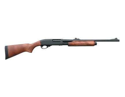 "Remington 870 Express Deer 12 GA 20"" Pump Shotgun with Rifle Sights, Hardwood - 25565"