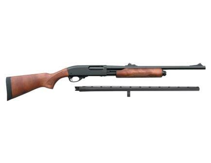 "Remington 870 Express 12 GA 26"" & 20"" Rifled Slug Combo Pump Shotgun - 25578"