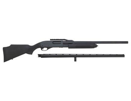 Remington 870 Express Combo 12 GA Pump Action Shotgun, Black - 81280