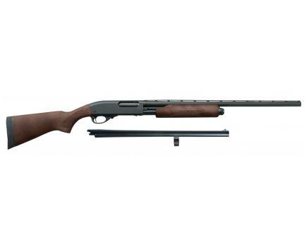 Remington Model 870 Express 12 GA Field & Home Combo Shotgun, Hardwood - 81293