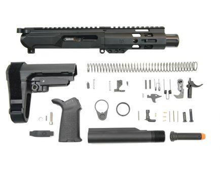 "PSA Gen4 4"" 9mm 5"" Lightweight M-Lok Railed MOE SBA3 Pistol Kit"