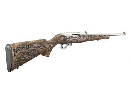 """Ruger 10/22 American Farmer II .22 LR 20"""" Semi-Auto Rifle, French Walnut - 31133"""