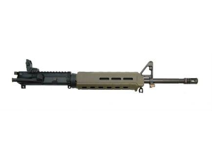 """PSA 16"""" Mid-length 5.56 NATO 1/7 Nitride MOE Upper w/BCG, CH, & MBUS Rear, ODG"""