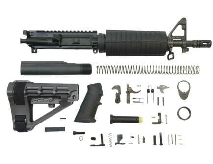 "PSA 10.5"" Carbine-Length 5.56 NATO 1/7"" Nitride Classic SBA4 Pistol Kit"
