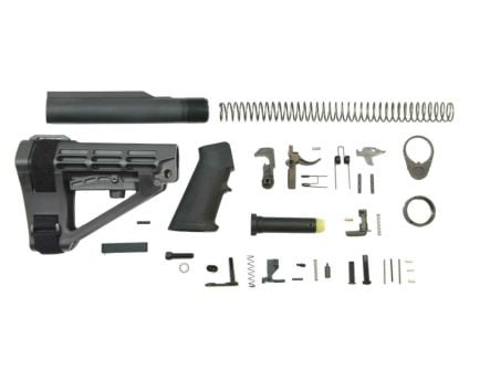 PSA SBA4 Classic Pistol Lower Build Kit, Black