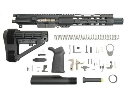 "PSA 8"" CHF Pistol-Length 300AAC Blackout 1/8 9"" Lightweight M-Lok MOE EPT SBA4 Pistol Kit w/NiB BCG"