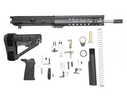 "PSA Gen2 PA10 12.5"" Carbine-Length .308 WIN 1:10 Stainless Steel 10"" Lightweight M-lok MOE EPT SBA4 Pistol Kit"