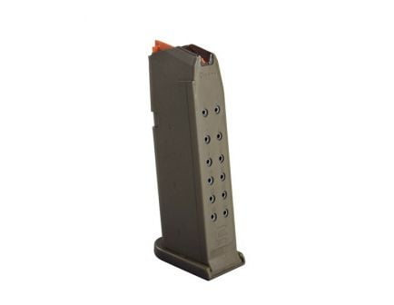 Glock G19 Gen 5 9mm 15 Round Magazine, OD Green - 47460
