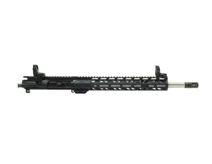 "PSA 16"" Mid-Length 5.56 NATO 1/7 Stainless Steel 13.5"" Lightweight M-Lok Upper w/ MBUS Sight Set - No BCG or CH"