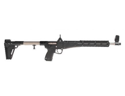 """Kel-Tec Sub2000 Glock 17 9mm 16.1"""" 17 Round Rifle, Nickel Boron & Black"""