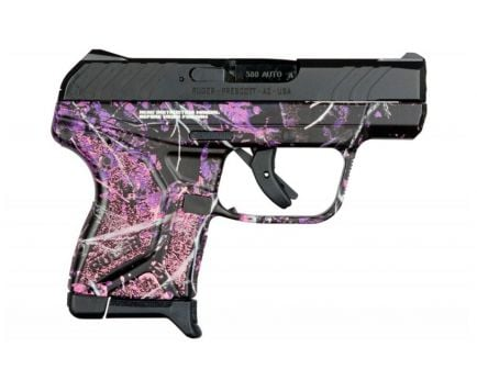 "Ruger LCP II .380 ACP 2.75"" 6 Round Pistol, Muddy Girl Camo"
