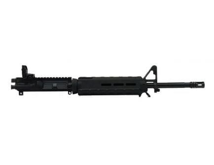 """BLEM PSA 16"""" Mid-Length 5.56 NATO 1/7 Phosphate MOE Upper With BCG, CH, & Rear MBUS - Black"""