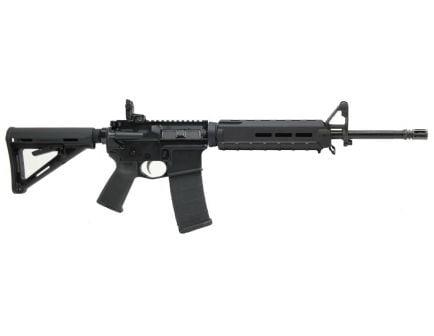 "PSA PA-15 16"" Nitride A2 Mid-Length 5.56 NATO MOE AR-15 Rifle, Black"