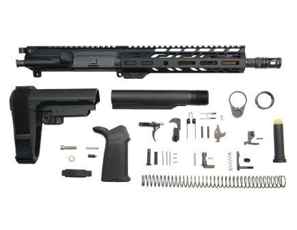 """PSA 10.5"""" Carbine-Length 5.56 NATO 1/7 Nitride 9"""" Lightweight M-Lok MOE SBA3 Pistol Kit"""