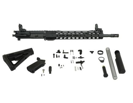 "PSA 16"" Carbine-Length 5.56 NATO 1/7 Nitride 13.5"" Lightweight M-Lok MOE Rifle Kit w/MBUS Sight Set"