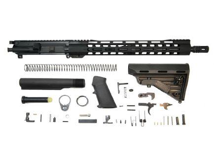 """PSA 16"""" M4 Carbine-Length 5.56 NATO 1:7 Nitride 15"""" M-Lok Classic Blackhawk Rifle Kit"""