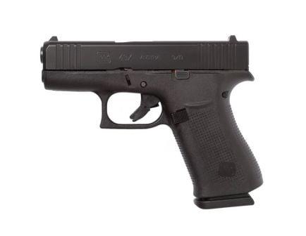 Glock G43X 9mm Subcompact Pistol, Black