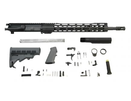 "PSA 16"" Mid-Length 5.56 NATO 1:7 Nitride 13.5"" Lightweight M-Lok Classic Rifle Kit, Gray"