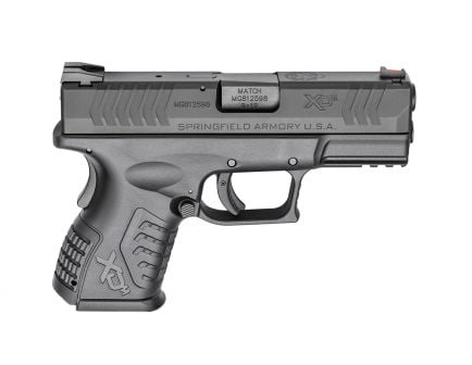Springfield Armory XD(M) 9mm Compact Pistol, Black