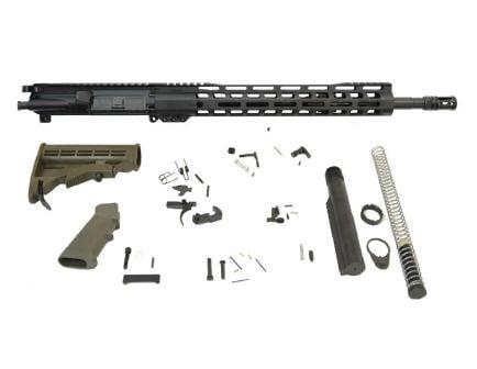 "PSA 16"" Mid-Length 5.56 NATO 1:7 Nitride 13.5"" Lightweight M-Lok Classic Rifle Kit, ODG"