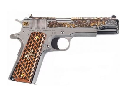 Colt 1911 Government .38 Super Pistol, Stainless - O2091MEX