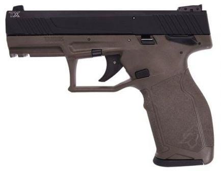 Taurus TX22 .22 LR Pistol, Manual Safety ODG/BLK