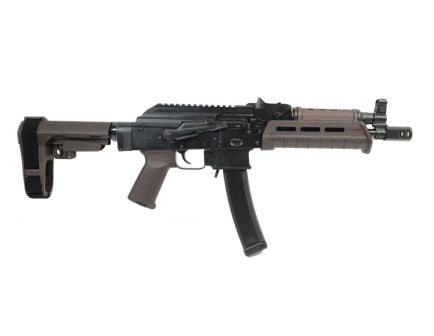 PSA AK-V 9mm MOE SBA3 Pistol, Plum