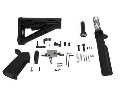 PSA AR15 MOE 3.5lb Single Stage CMC Lower Build Kit, Black