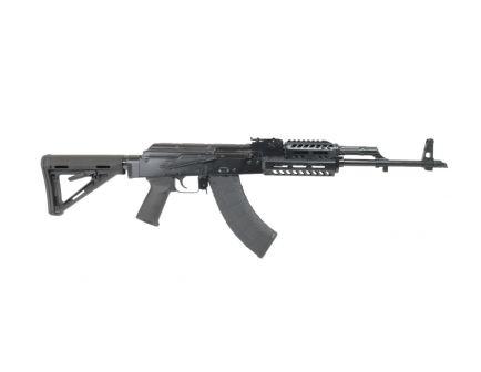 PSA AK47 GF3 Forged AK-M4 MOE Railed Rifle, Black (No Cleaning Rod)