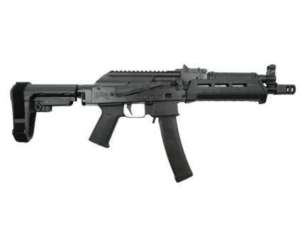 PSA AK-V 9mm MOE ALG SBA3 Pistol, Black