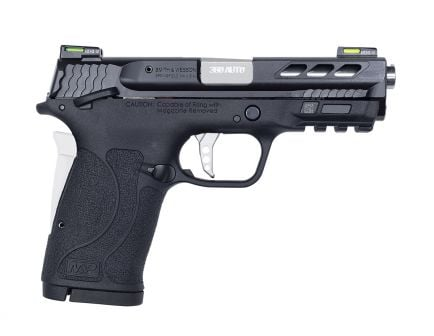 S&W Performance Center M&P380 Shield EZ M2.0 .380 ACP Pistol, Silver Barrel - 12718
