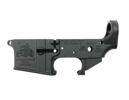 "PSA ""SPACEROVER-15"" Stripped Lower Receiver"