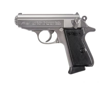 Walther PPK/s .380 ACP Pistol, Stainless - 4796900